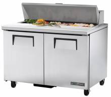 "True TSSU-48-12-HC 48"" Solid Door Sandwich/Salad Unit 