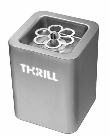 Thrill Vortex F1-PRO Stainless Steel Tabletop Glass Chiller and Sanitizer - 6640TH001 | Refrigeration Equipment | Zanduco US
