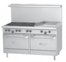 "Garland U60-6G24RR U Series Gas, 60"" W,  Griddle Plate 
