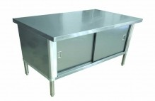 "Worktable Cabinet 30"" x 72"" - Flush Edge 