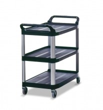 Rubbermaid 4091 Utility Cart, Open Sided  Black | Material Handling Transport & Storage | Zanduco CA
