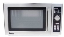 Amana RCS10DSE Medium Volume Stainless Steel Commercial Microwave - 120V 1000W | Kitchen Equipment | Zanduco US