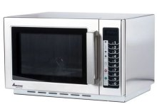 Amana RCS10TS Stackable Commercial Microwave with Push Button Controls - 120V 1000W | Kitchen Equipment | Zanduco US