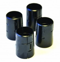 Zanduco Black ABS Sleeve For Epoxy Shelf - 4/pack | Material Handling & Storage | Zanduco US