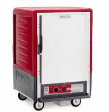 Metro C535-HFS-U C5 3 Series Heated Holding Cabinet with Solid Door - Red | Kitchen Equipment | Zanduco US