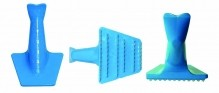 Fish Scaler, Heavy Duty Plastic (Blue) | Smallwares | Zanduco CA