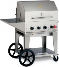 "Crown Verity 30"" Natural Gas Mobile Grill Package MCB-30PKG-NG 
