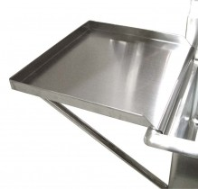 Drain Board For 18X18 Sink | Sinks & Dish Room | Zanduco US