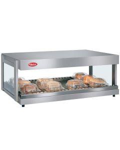 "Hatco GRSDH-30 Glo-Ray 30"" Self Service Countertop Merchandising Display Warmer- 1 Shelf"