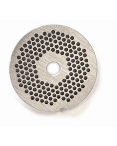 """European Style #12 stainless steel plate, hubless, 3.2mm (1/8"""") - one notch/ round"""