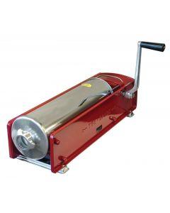 Tre Spade 10 kg / 22 lb Capacity Horizontal Two-Speed Gear - Driven Sausage Stuffer