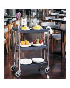 Small Folding Dining Cart