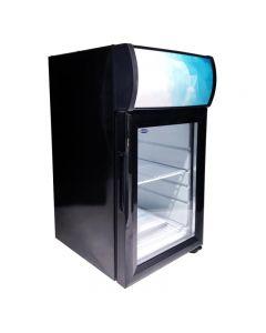 "Zanduco 13"" Countertop Display Refrigerator with 21L Capacity"