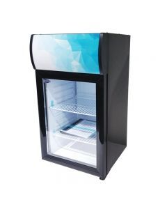 "Zanduco 16"" Countertop Display Refrigerator with 40L Capacity"