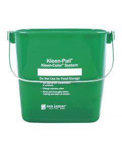 San Jamar Kleen-Pail 6 QT, Green  KP196GN
