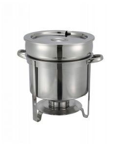 Winco 211 11 qt Stainless Steel Soup Warmer