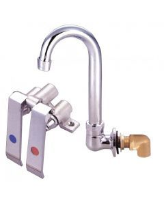 Knee Valve Assembly and Gooseneck Faucet