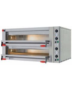 18 kW Pyralis Series Pizza Oven with Double Chamber and Mechanical Display