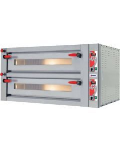 18 kW Pyralis Series Pizza Oven with Double Chamber and Digital Display