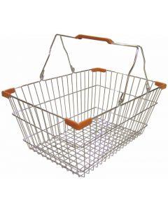 Chrome Shopping Basket