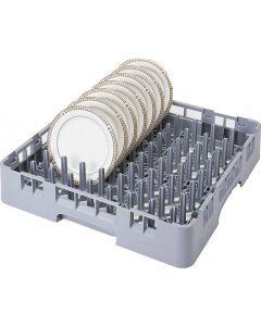 Cambro 9 x 9 Camrack® Peg and Tray Rack - Soft Gray