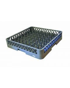 9 x 9 Gray Plastic Peg Rack 6 / Case