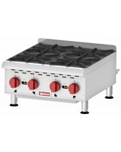 Countertop Stainless Steel Gas Hot Plate with 4 Burners