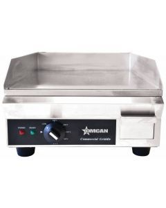 """21"""" Counter Top Electric Griddle - 1800 W"""