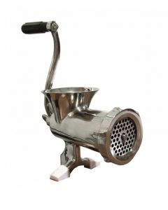 Manual Stainless Steel Meat Grinder #10 - Clamp Style