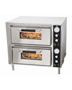 """27"""" Double Chamber Countertop Pizza Oven"""