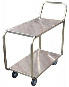 Stainless Steel Stock Cart