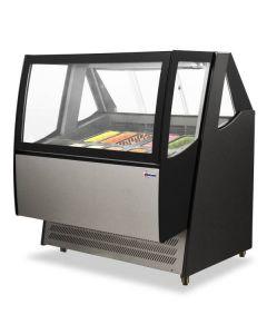 "45"" Ice Cream Display with Brilliant LED Lights FR-CN-1200-D"