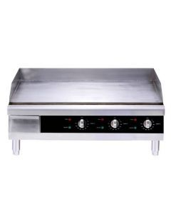 """30"""" Countertop Stainless Steel Electric Griddle - 4500 W"""