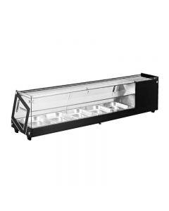 "45""/1.55 Cu. Ft. Capacity Sushi Showcase with Flat Glass"