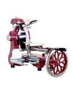 """Volano Manual Slicer with 12"""" Blade and Flower Flywheel"""