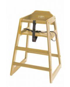Wooden High Chair - Natural 4504