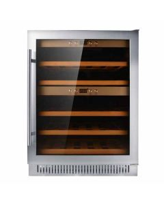 Dual Zone Wine Cooler with 40 Bottle Capacity