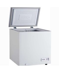 """Zanduco 30"""" Chest Freezer with Solid Flat Top 5 cu ft"""