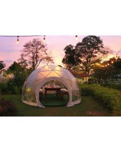 13 Ft Restaurant Patio Dining Geodesic Dome Tent