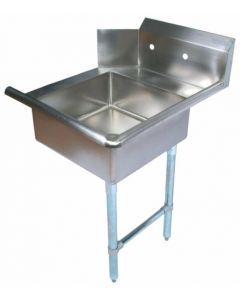 """Zanduco 26""""   Right Side Soiled Dish Table with Sink"""