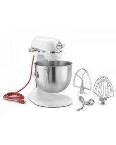 KitchenAid 7 Qt Commercial Stand Mixer - White KSM7990WH
