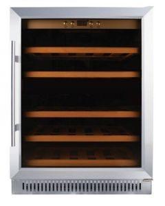 Single Zone Wine Cooler with 51 Bottle Capacity