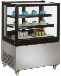 Zanduco Standing Display Refrigerator & 370L Capacity with Edge Glass