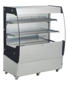 Open Refrigerated Floor Display Case - 200L