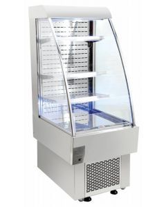 Zanduco Open Refrigerated Display Case with 8.12 Cu. Ft.