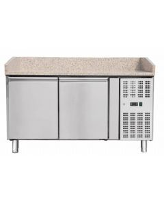 """59"""" Refrigerated Pizza Prep Table"""