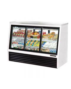 True TSID-72-6 Single Duty Six Door Refrigerated Deli Case - 24 cu. ft.