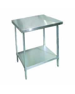 """Zanduco 30"""" X 30""""-All Stainless Steel Worktable"""