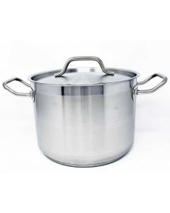 8 QT/7.6 L Stock Pot with Cover