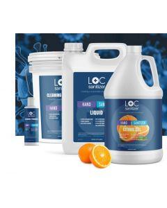 LOC Hand Sanitizer Gel - 3.8 L